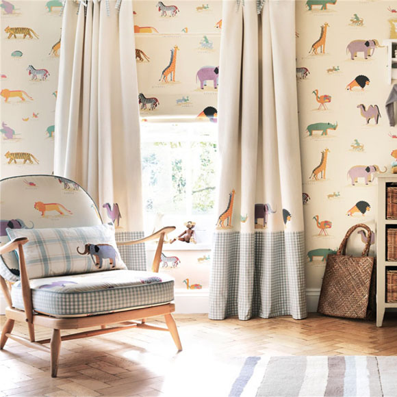 Childrens Fabrics and Wallpapers