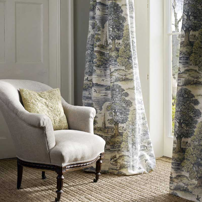 English Countryside Fabric