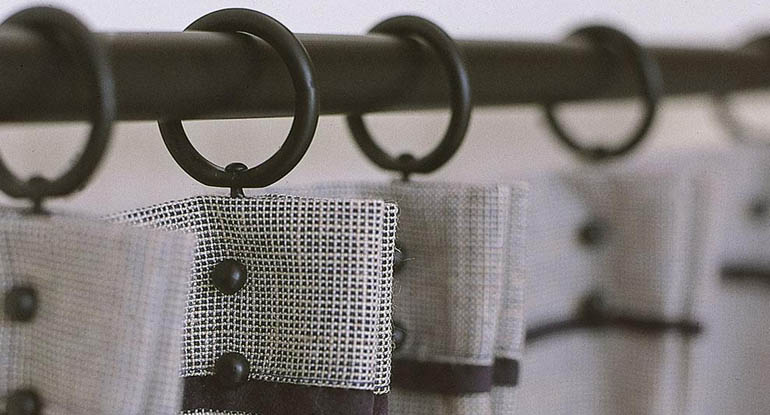 metal curtain poles