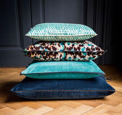 Velvet, Linen, Silk Cushions
