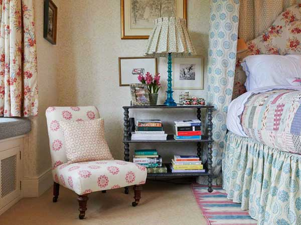 Small Scale Fabric and Wallpaper