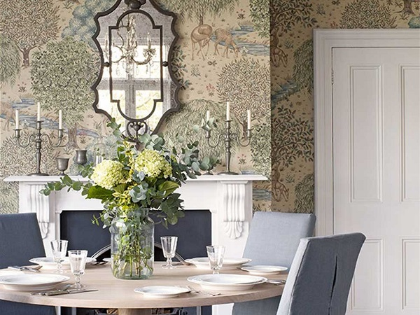 english countryside fabrics and wallpapers