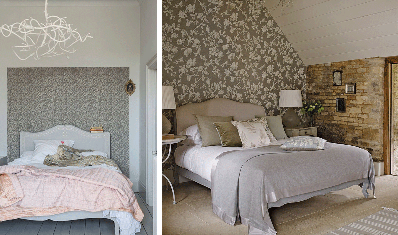How to create a feature wall with photos - Subtly Contrasting Feature Walls