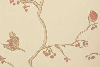 Bird Print Wallpaper