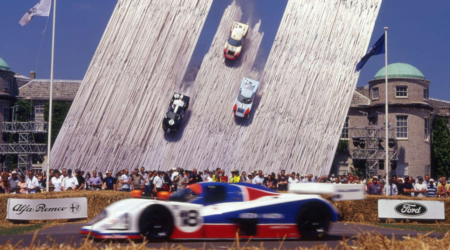 Festival of Speed at Goodwood House