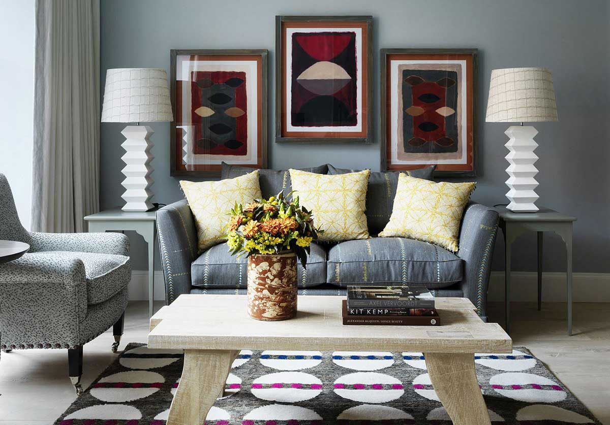 Grey and Yellow Lounge Ideas