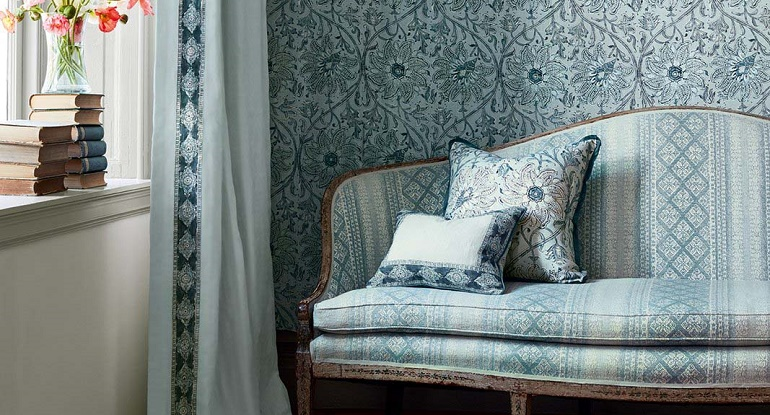 Designer Fabrics at F&P Interiors