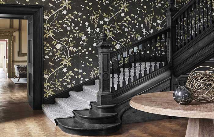 William Morris Hallway Wallpaper Ideas