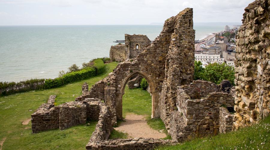 Hastings Castle, East Sussex
