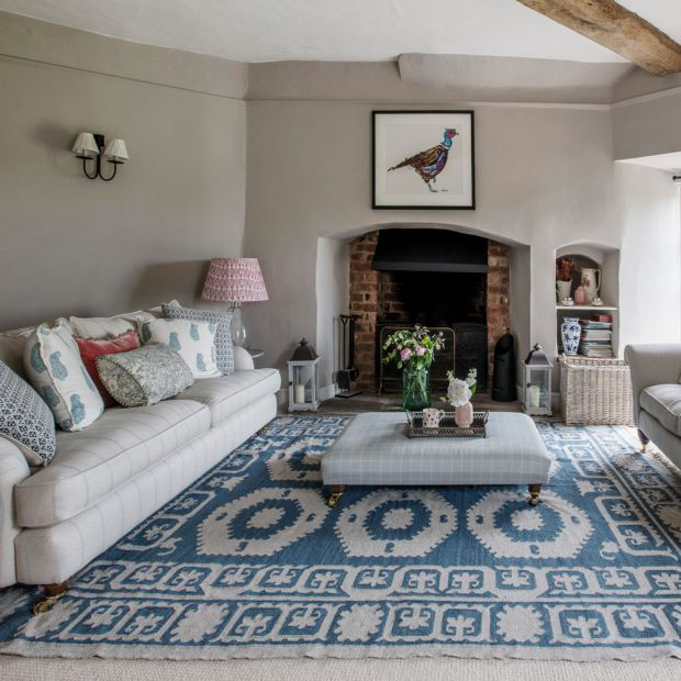 Modern Country Period Sitting Room