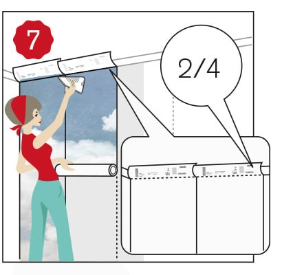 How to Hang Mural Wallpaper
