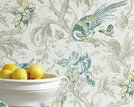 Chinoiserie Style Wallpaper