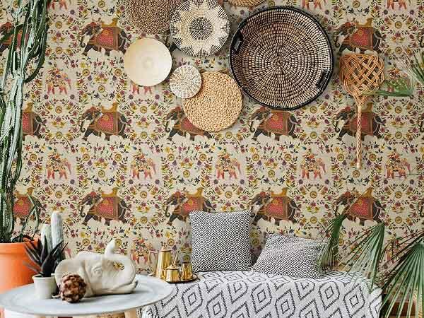 Eclectic Wallpaper and Fabric Designer: MINDTHEGAP