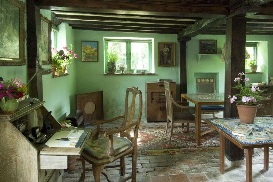 Monk's House interiors