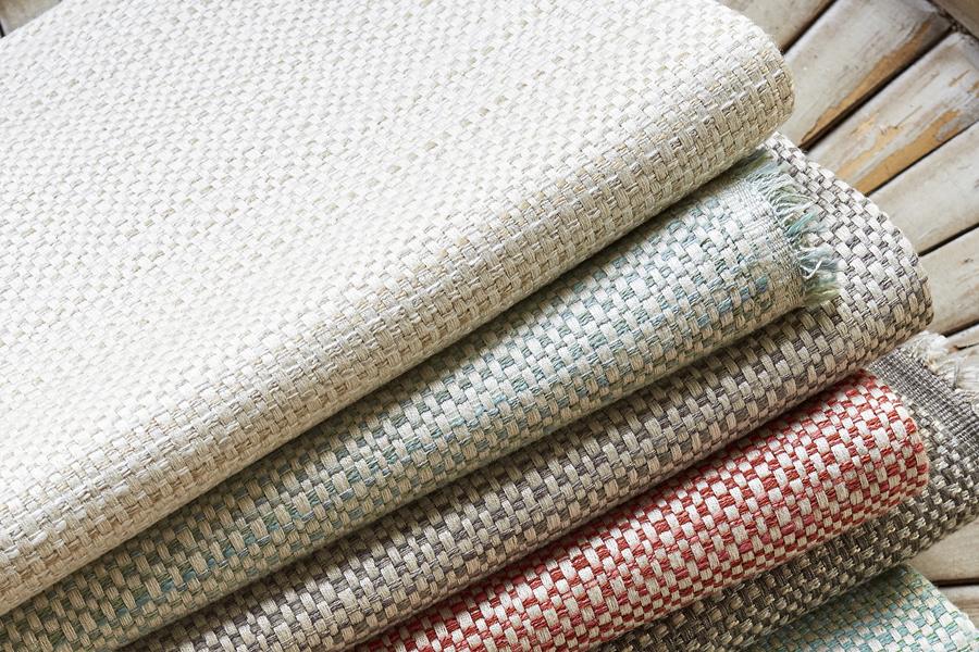 Chunky weave fabrics
