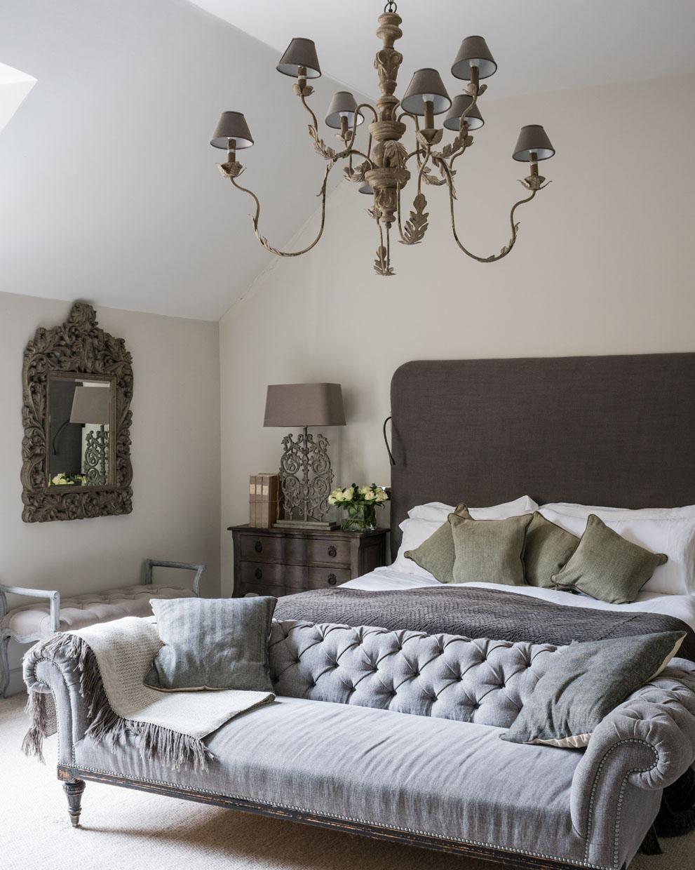 Urban Chic Bedroom Inspiration Grey Linen