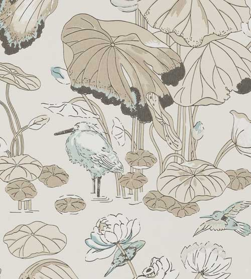 Botanical Bathroom Wallpaper