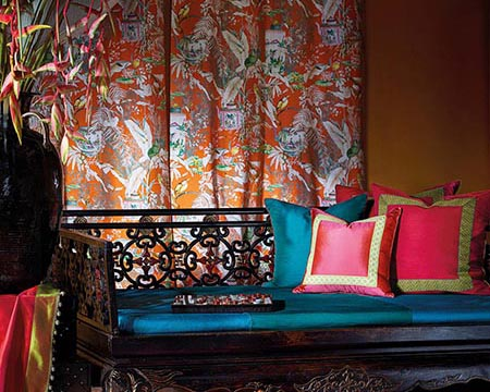 Chinoiserie Curtains