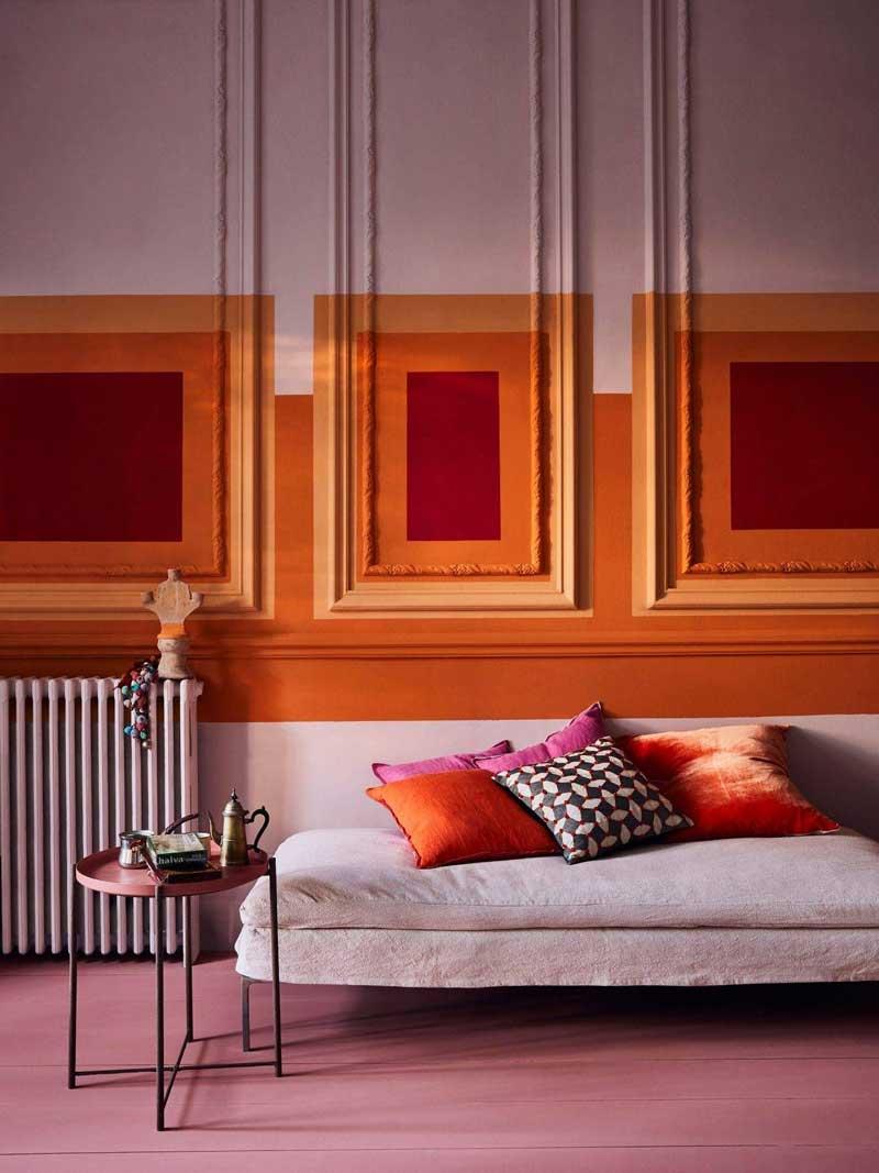 Pink and Orange Decor