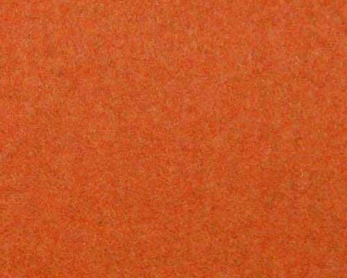Burnt Orange and White Living Room
