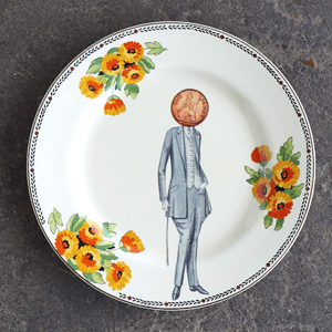 Penny for your thoughts plate