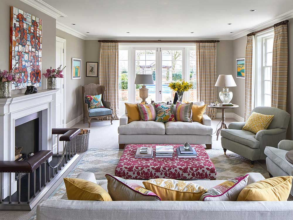Pink And Yellow Living Room Ideas, Yellow Living Room Ideas