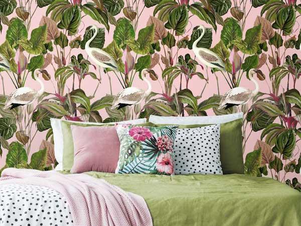 Modern Pink Living Room