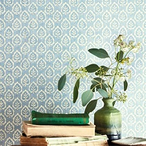 Shop Blue Wallpaper