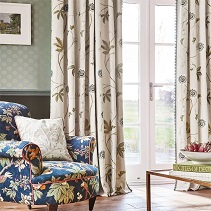 Shop Designer Curtain Fabric UK