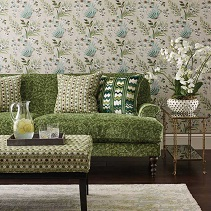Shop Green Curtain & Upholstery Fabric