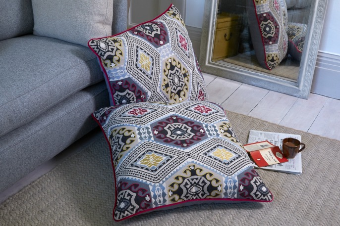 Mulberry floor cushions