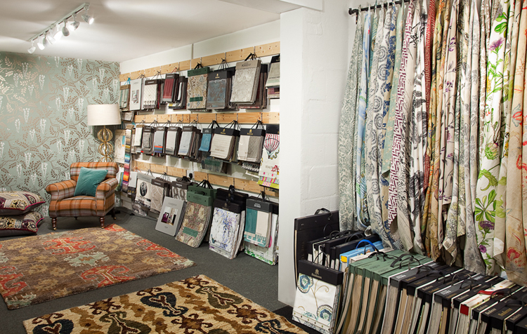 Showroom Fabric Hangers