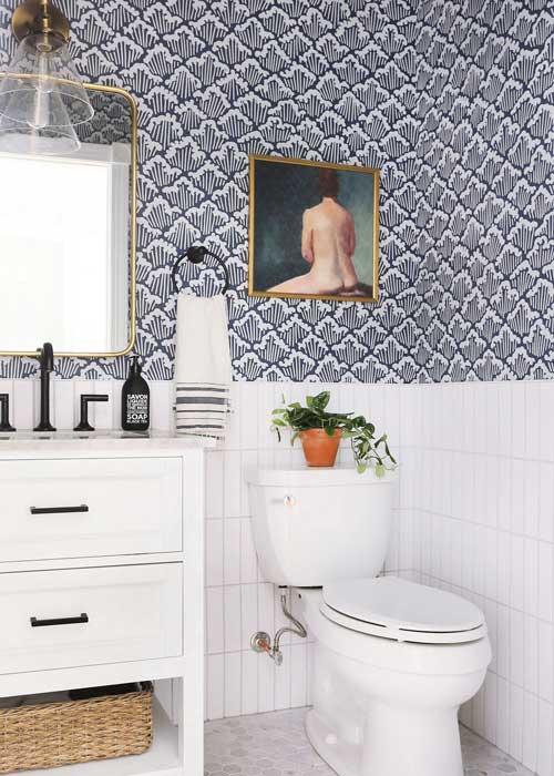 Wallpaper For Small Bathroom Ideas Interior Design Guides