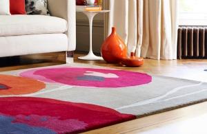 poppy design rug
