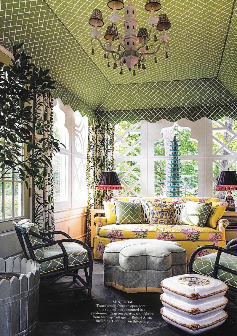 Sun Room in Green