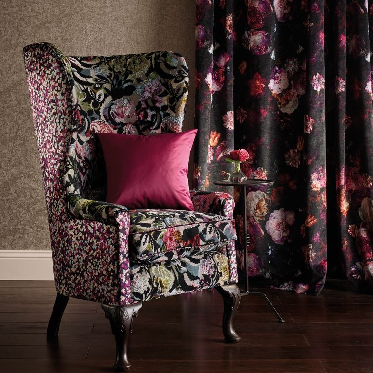 How to Use Floral Fabric