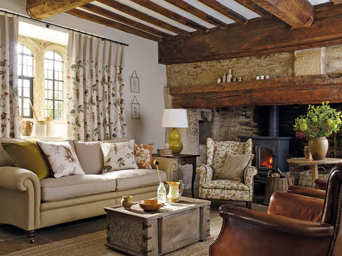Farmhouse sitting room