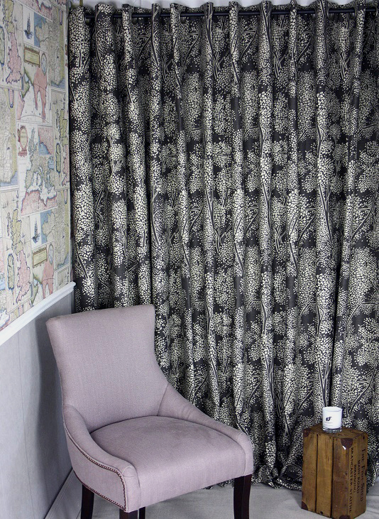 Woodsford Linen Curtains