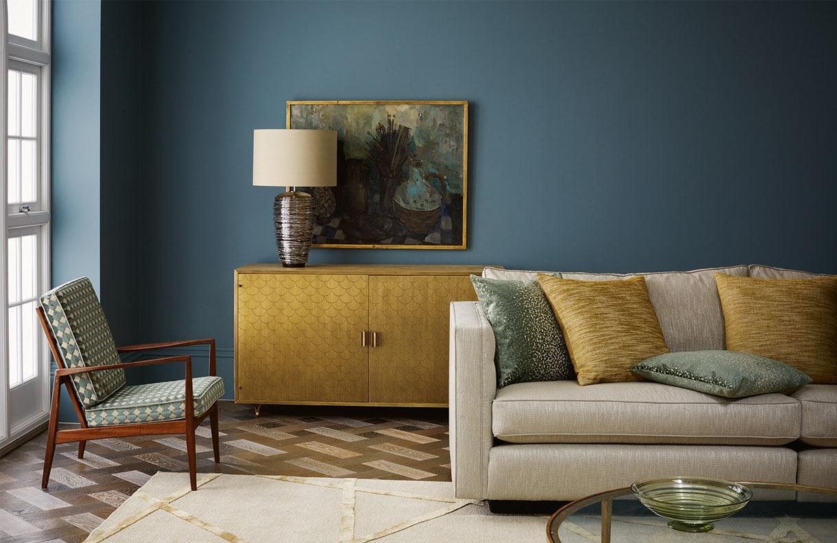 Antique Furniture in Contemporary setting